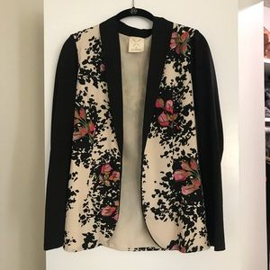 Urban Outfitters Floral Blazer